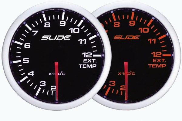 ZEGAR SLIDE WA 52mm - Exhaust Temperature - GRUBYGARAGE - Sklep Tuningowy